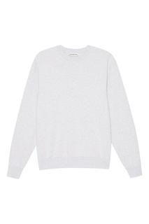 Серый меланжевый свитшот Balenciaga