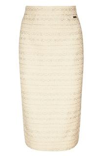 Жаккардовая юбка-карандаш Laroom