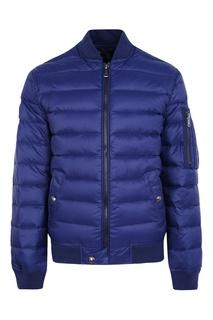 Стеганая синяя куртка Ralph Lauren Children