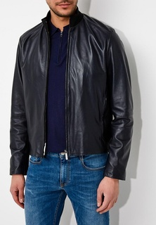 Куртка кожаная Bikkembergs