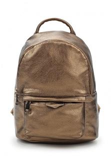 00fbd81d6370 Купить Золотистые женские рюкзаки кожаные в интернет-магазине ...