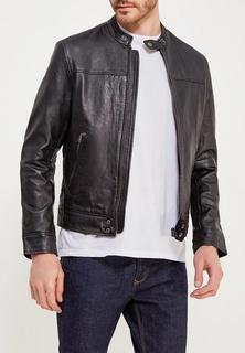 Куртка кожаная Wrangler