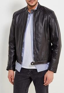 Куртка кожаная Geox