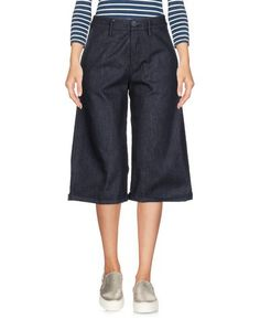 Джинсовые брюки-капри CucÙ LAB