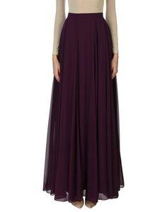 Длинная юбка Halston Heritage