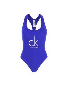 Слитный купальник Calvin Klein