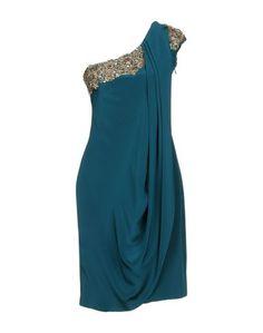 Короткое платье Marchesa