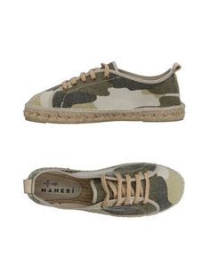 Низкие кеды и кроссовки ManebÍ