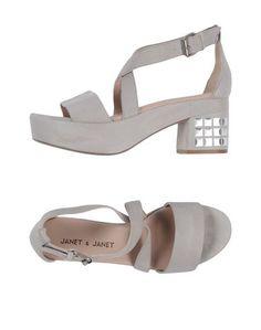 Сандалии Janet & Janet