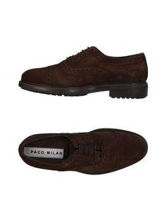 Обувь на шнурках Paco Milan
