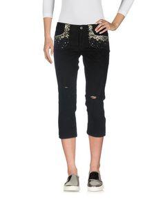 Джинсовые брюки-капри Silk AND Soie