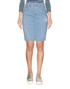 Джинсовая юбка Blue Luxury