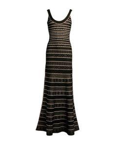 Длинное платье HervÉ LÉger