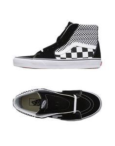 Высокие кеды и кроссовки Vans