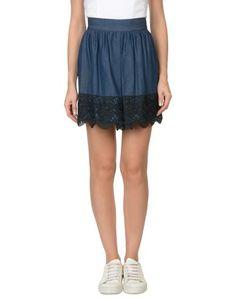 Джинсовая юбка Anna Sui