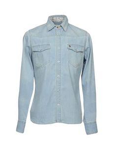 Джинсовая рубашка Maison Clochard