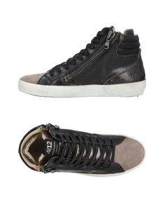 Высокие кеды и кроссовки Quattrobarradodici