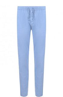 Хлопковые брюки свободного кроя Berwich