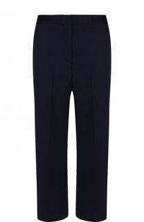 Укороченные расклешенные брюки из шерсти Versace