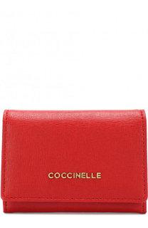 Кожаный кошелек для мелочи с отделениями для кредитных карт Coccinelle