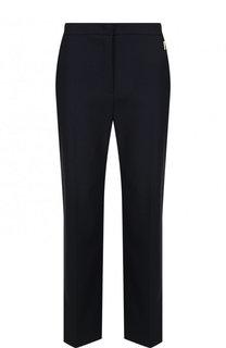 Укороченные брюки из хлопка со стрелками Escada