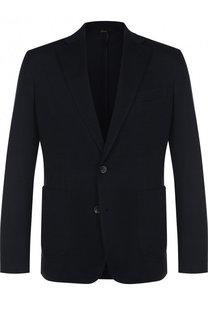 Однобортный шелковый пиджак Brioni