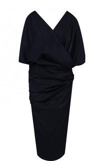 ff47f00bf7d Шерстяное платье с V-образным вырезом и открытой спиной Jacquemus