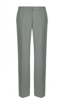 Укороченные шерстяные брюки со стрелками Dries Van Noten