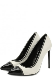 Кожаные туфли Zip на шпильке Tom Ford