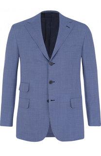 Шерстяной однобортный пиджак Brioni