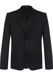 Однобортный шерстяной пиджак Kenzo