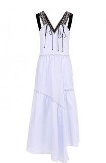 Хлопковое платье-миди с широкими лямками Dorothee Schumacher