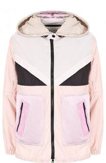 Куртка свободного кроя с капюшоном Valentino