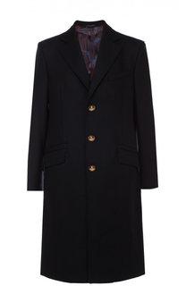 Однобортное пальто из смеси шерсти и кашемира Vivienne Westwood