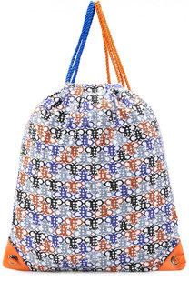 Текстильный рюкзак с принтом Emilio Pucci