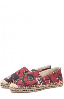 Текстильные эспадрильи с цветочным принтом Isabel Marant Etoile
