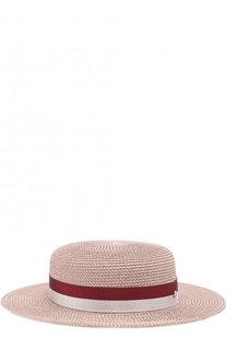 Шляпа Rod с лентой Maison Michel