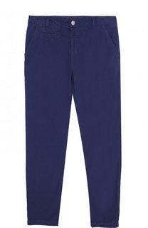 Однотонные брюки из хлопка Stella McCartney