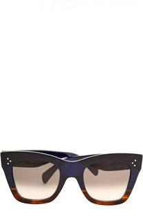Солнцезащитные очки с футляром Céline Eyewear