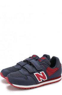 Комбинированные кроссовки 500 с застежкой велькро New Balance