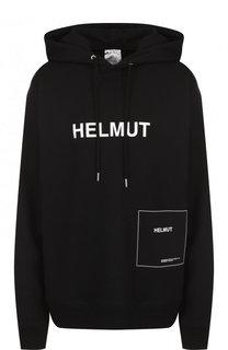 Хлопковая толстовка с логотипом бренда Helmut Lang