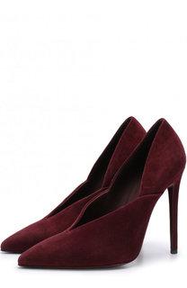 Замшевые туфли Eva на шпильке Victoria Beckham