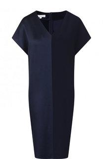 Мини-платье свободного кроя с V-образным вырезом Escada Sport