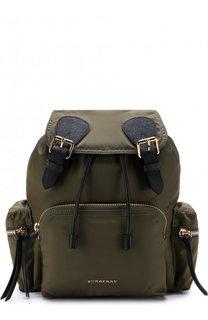 Рюкзак Rucksack с кожаной отделкой Burberry