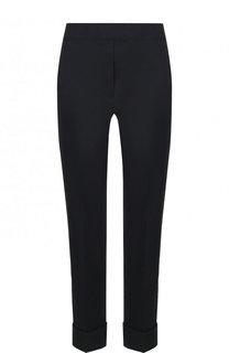 Укороченные брюки из смеси льна и эластана D.Exterior
