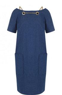 Джинсовое платье-миди свободного кроя Weill