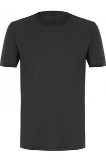 Хлопковая футболка с круглым вырезом Transit