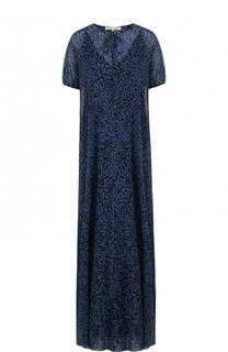 Шелковое платье-макси свободного кроя Alexander Terekhov