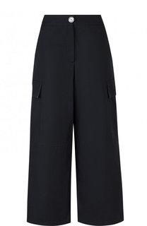 Укороченные широкие брюки с карманами Walk of Shame