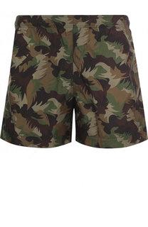 Плавки-шорты с принтом Tomas Maier